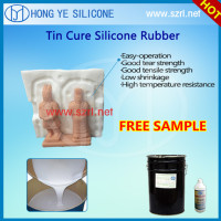 Room Temperature Cured Silicone for Figure Sculpture