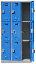 small doors metal electronic safe locker / steel storage locker with digital lock