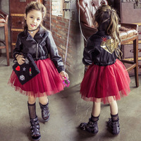 Girls Clothes Free Shipping Latest Models Dresses For Girls Princess Dress Winter Korean