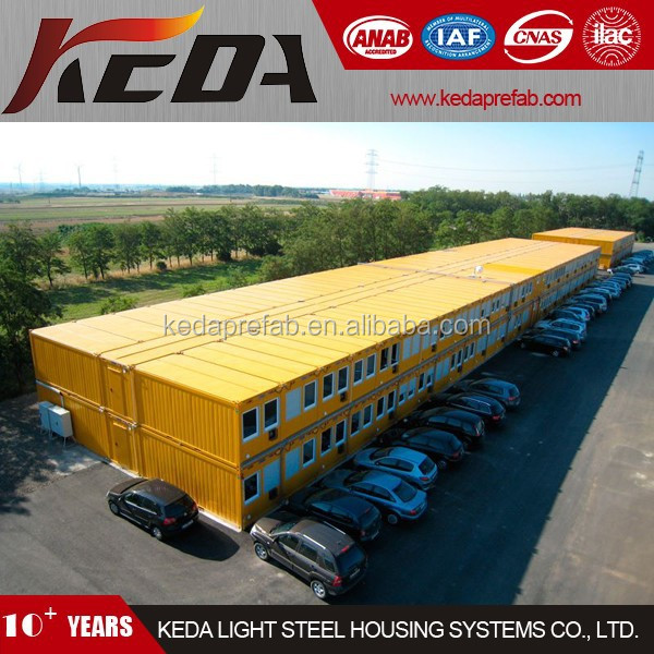 Workforce Accommodation Container House as Site Labour Camp / Office Building