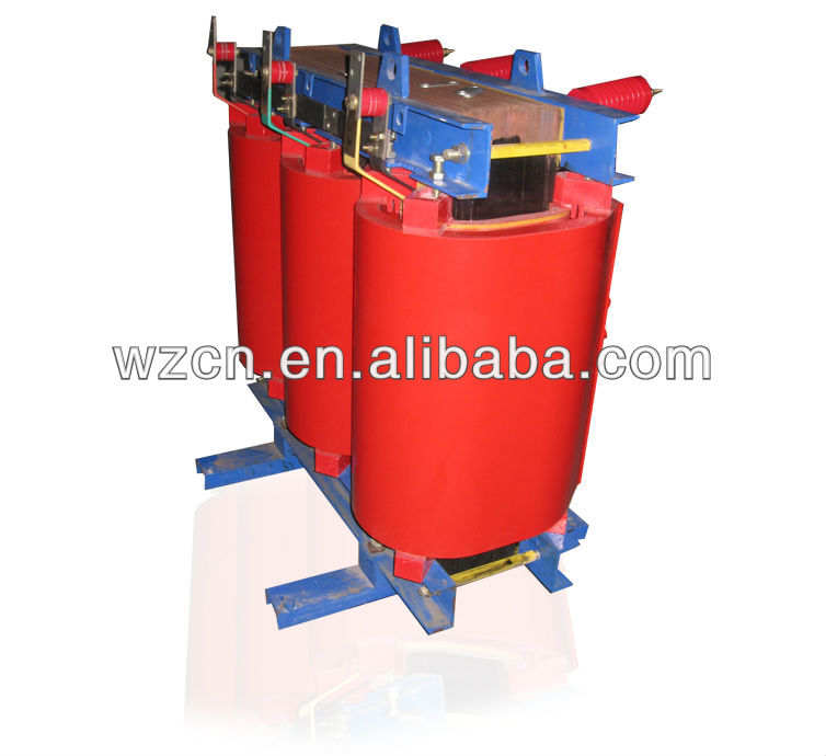 three phase high voltage dry type transformer 50 kva electrical transformers 11kv