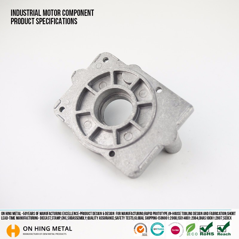 OEM ODM Aluminum steel alloy die cast electric motor engine parts