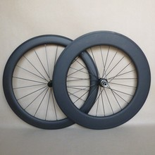 china light weight carbon wheels tubular front 60mm rear 88mm combo wheels