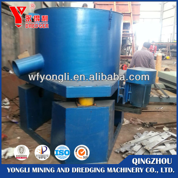 River placer gold mining equipment centrifugal concentrator gold alluvial