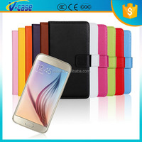 New arrival Leather wallet cover stand Flip Case for Sony Xperia E4G