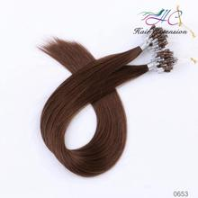2015 Hot Sale Factory Supply Top Quality Double Drawn Thick Bottom Italy Keratin 0.5g 0.8g 1g 2g micro braid weft
