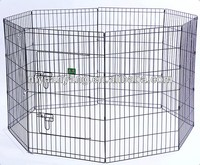 indoor outdoor cheap folding wire metal puppy pet dog playpen
