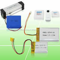 airsoft gun battery 3.7v 1200mah lipo battery