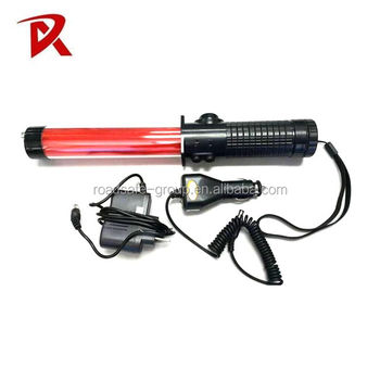 Wholesale Police LED Traffic Baton With Torch Light
