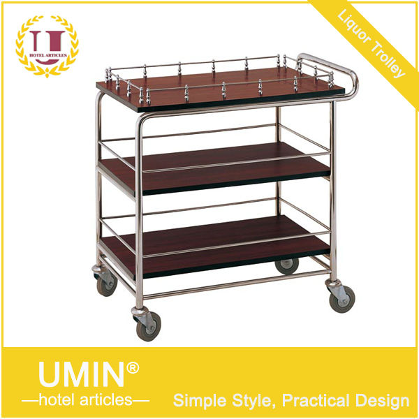Wood Food Service Carts for Sale