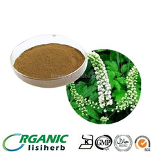 GMP factory supply Black Cohosh Extract powder CASNO 84776-26-1