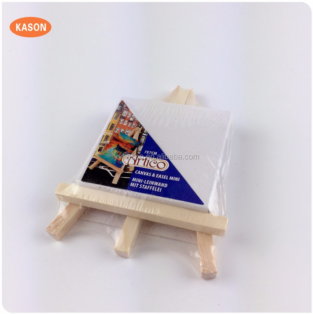 Mini Wooden Easel Mini Cavas & Easel