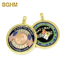 China supplier Free Design Customized 3D Soft Enamel Souvenir Challenge Coin