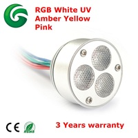 Cheapest RF IR Remote controlled aluminum RGB LED ceiling light with 3 years warranty