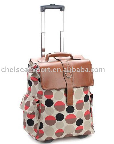 2015 Hot sale trolley bag for women
