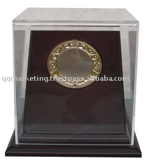 Wooden Base with Acrylic Cover, Medal