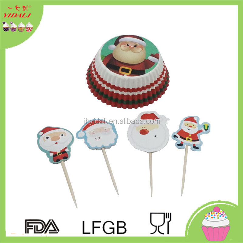 Cake decoration paper cupcake pick wholesale