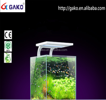 GAKO 2 Working Modes JL-24 High Bright White Light for Aquarium Fish Tank 110-240V 24 LEDs Clip Lamp Mini Aquarium Fish Tank