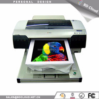 Easy operation A3 size home textile printer / textile printer digital t shirt printer cheap with heat equipment