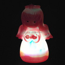 Romantic LED Colorful Changing Villain Lights Angel Night Light Energy Saving LED Lamp