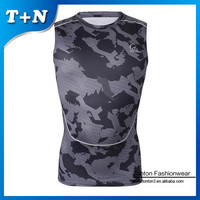 sublimated crossfited gym sleeveless tank tops men stringer vest