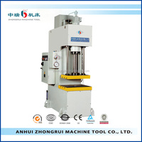 hemispherical head C Frame Hydraulic drawing Press used for plate embossing,flanging,leveling processe