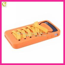 Silicone shoes handmade mobile phone case for iphone 4