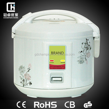 Button Control Resonable Price Deluxe Rice cooker2.8L,CE,CB,GS
