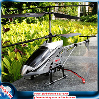 RTF helicopter 2.4g 3 channels rc copter with gyro durable alloy fuselage coaxial rotors remote control model aircraft for sale