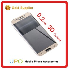 [UPO] 0.2mm Full Screen Cover S6 Edge Tempered Glass 9H Hardness 3D Curved Tempered Glass For Samsung Galaxy S6 Edge