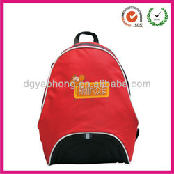 2013 newest fashion red polyster travel bags portable( factory)