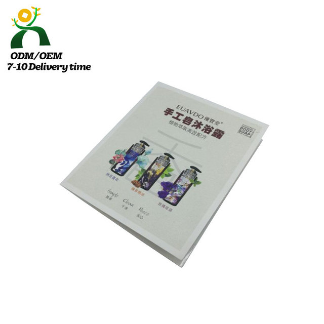 Saddle stitching printing services catalog book printing introduction of cosmetic products printing