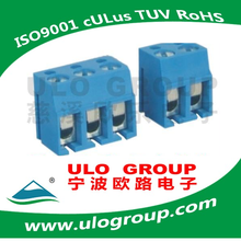 Hot sale 2016 Free sample PCB WIRE PROTECTOR TERMINAL BLOCKS Pitch: 5.0mm from ULO GROUP