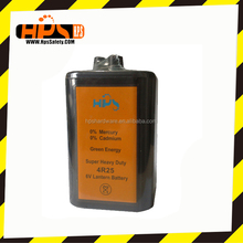 The most popular style Battery 6V for Warning Light