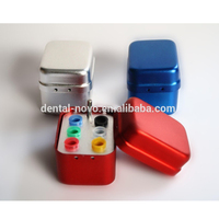 B024 colorful dental burs box block holder use for gutta percha points