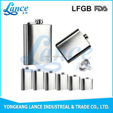 Professional Manufactor producing whiskey hip flask