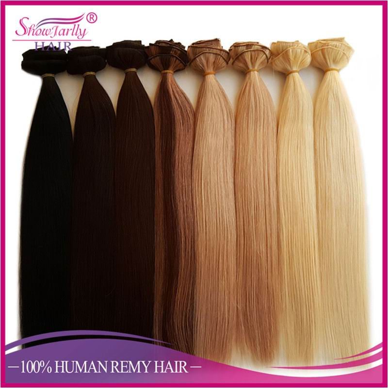 Top quality elastic russian hair remy clip in human hair extensions unprocessed freetress bulk hair no weft for white women