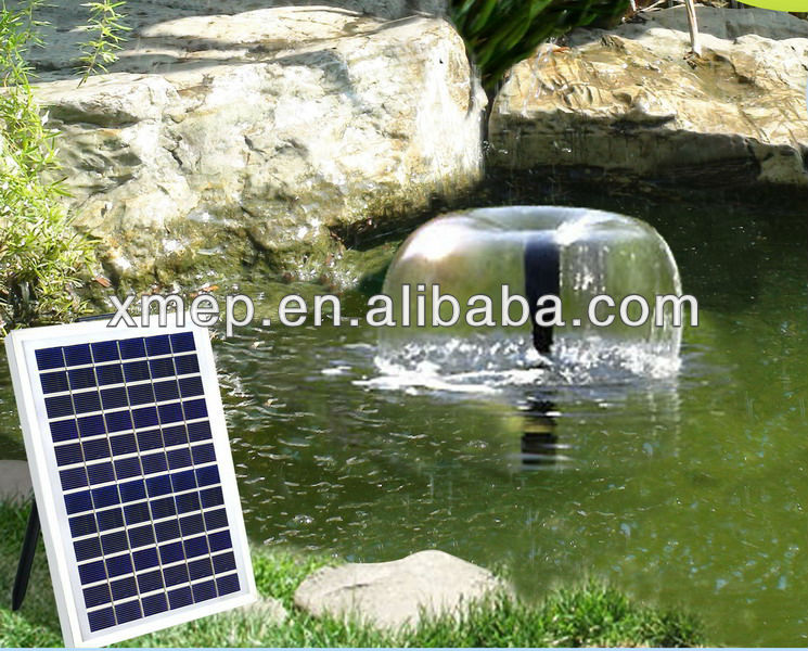 Brushless Solar Pump Fountain