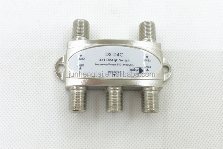 Satellites FTA TV LNB 950-2400MHZ 4x1 diseqc switch