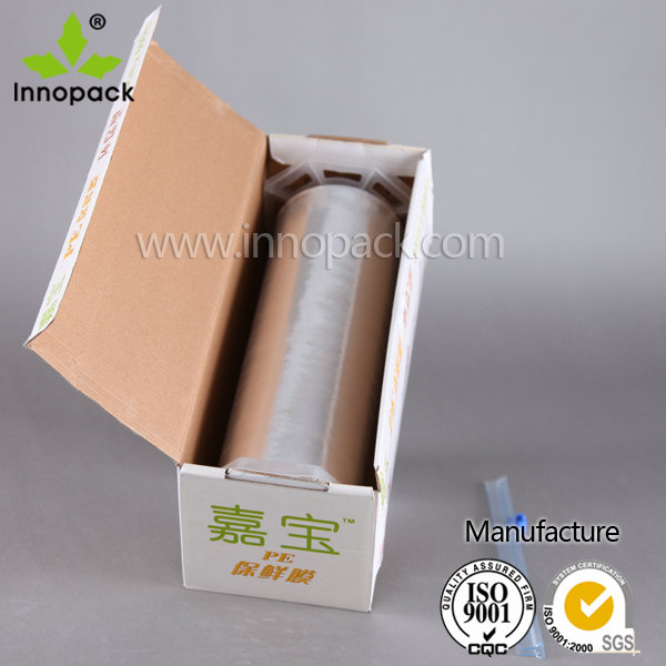 clear LDPE cling film/food wrap/plastic stretch film for food grade