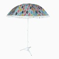 Weideng hotsale outdoor tilt fishing tassel beach umbrella with fringe