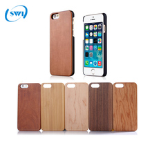 2017 China manufacturer wholesale blank real wooden case for iphone 8/8 plus