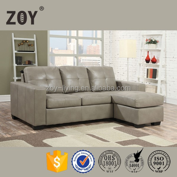 Home Furniture Chinese Supply to America Small Corner Sofa ZOY-90170