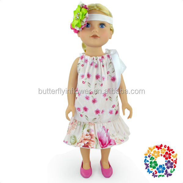 "Fashion Doll Accessories Clothes Cheap Price Wholesale 18"" American Girl Doll Dress"