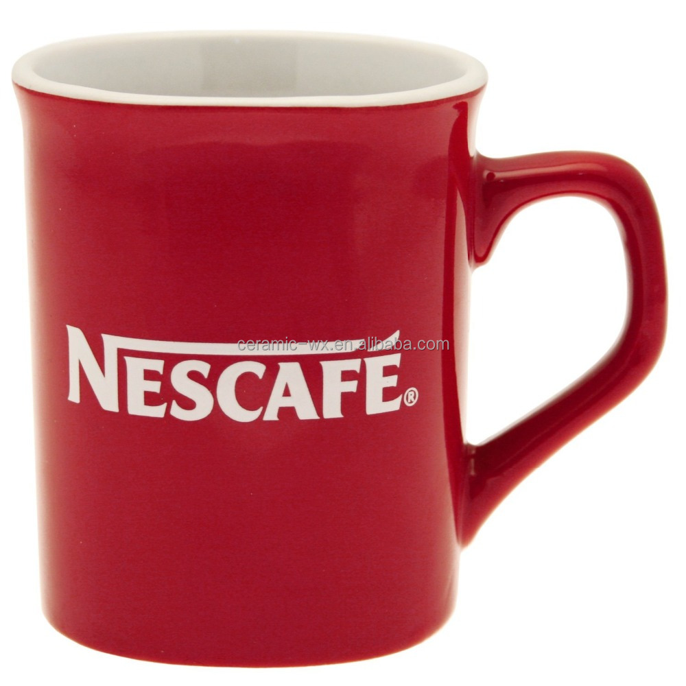 Nescafe design coffee Classic Original Red Mug cup