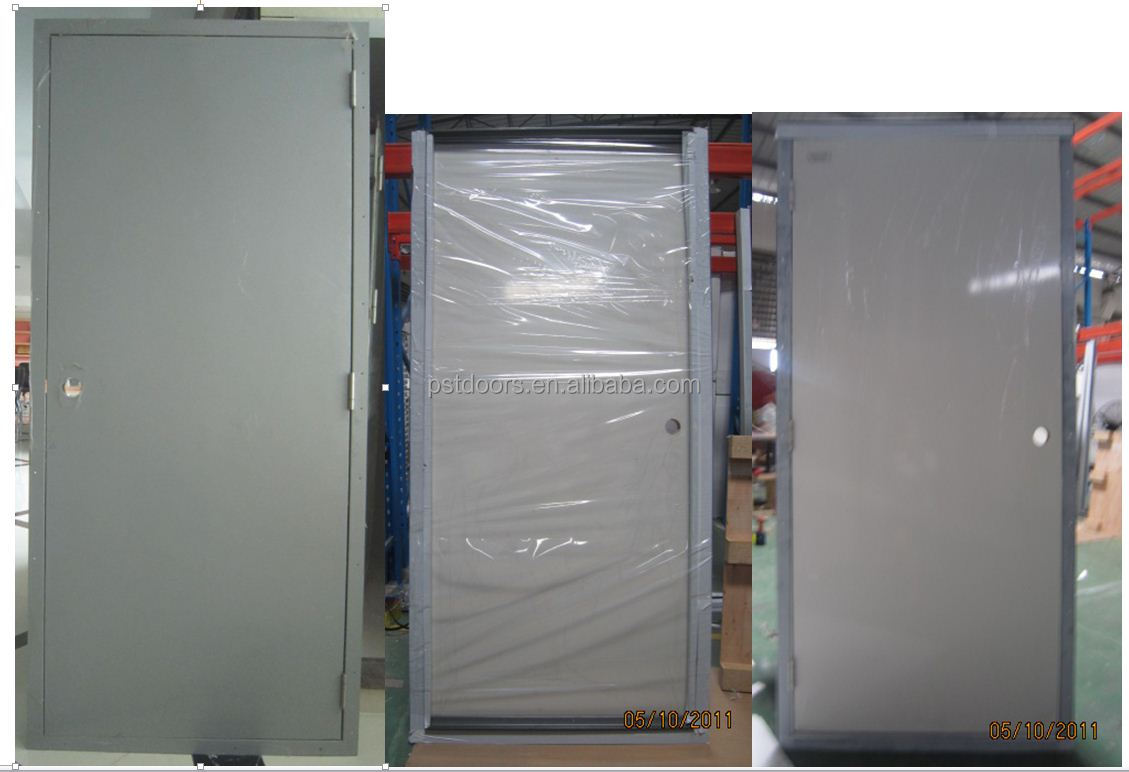 1hour, 2 Hour, 3 Hour, 4 Hour Fire Rated Steel Door High Quality