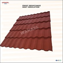 Canada Coffee Grey Colorful Stone Coated Metal Roof Tile Price
