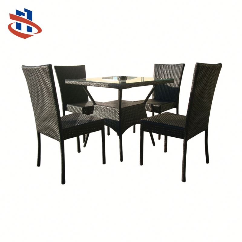 High Quality Rattan Dining Table And Sofa Chair