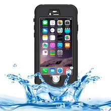 Waterproof Protective Case with Button & Fingerprint Unlock & Touch Screen Function for iPhone 6