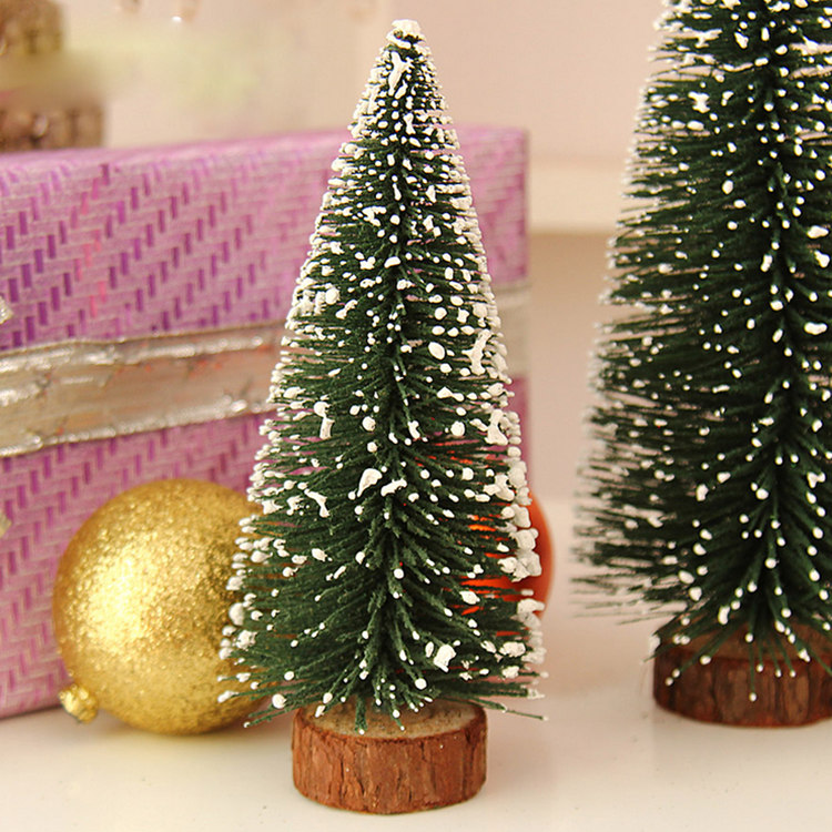 Most Popular Christmas supplies pvc decorated christmas mini tree